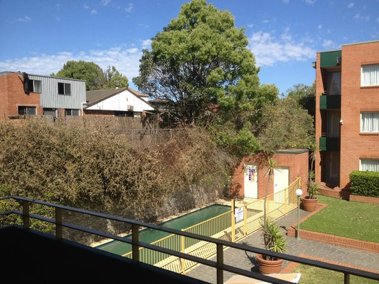 APX Apartments Parramatta: View from our balcony