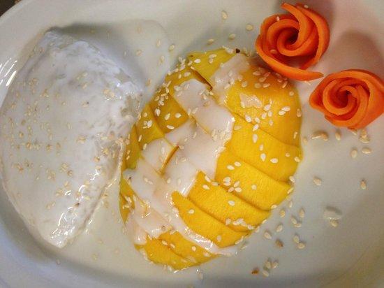 Bangkok Garden : the mongo and sticky rice