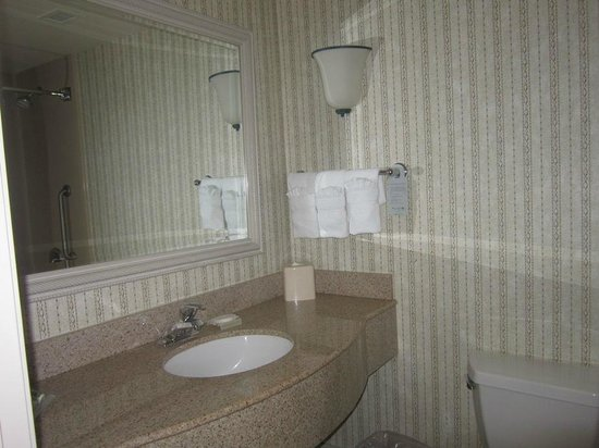Hilton Garden Inn Palm Springs/Rancho Mirage: bathroom