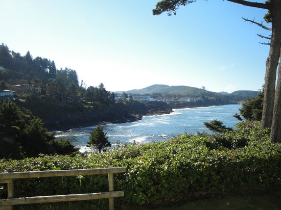 Inn at Arch Rock : The view from room #9 - gorgeous!