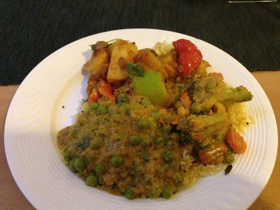 Flavours: Vegetarian selection from the buffet