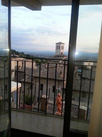 Hotel Giotto Assisi: La vista desde mi habitación