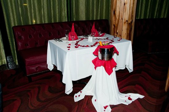 Hard Rock Hotel Cancun: Brazilian Steak House Did did beautiful set up for us