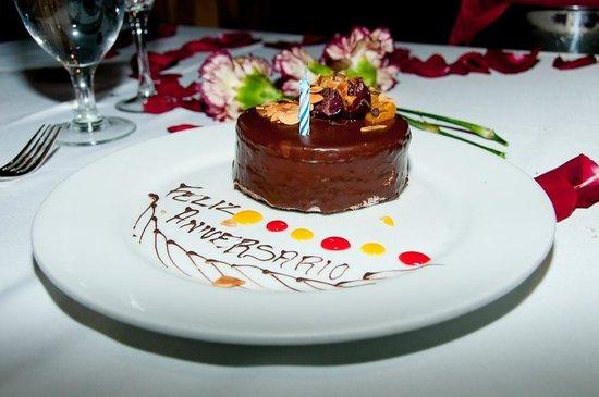 Hard Rock Hotel Cancun: At the Brazilian Steak House