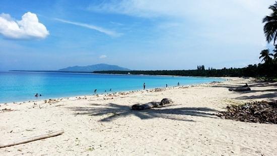 The breathtaking Dahican Beach, Mati City, Davao Oriental, Philippines