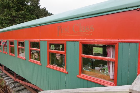 On The Track Lodge: Train carriage accommodation