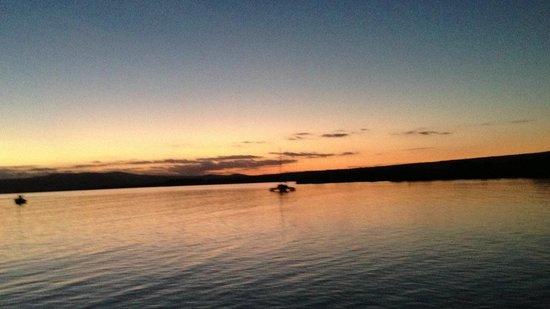 Molokai Harbor: Sunset on the Wharf - Kaunakakai