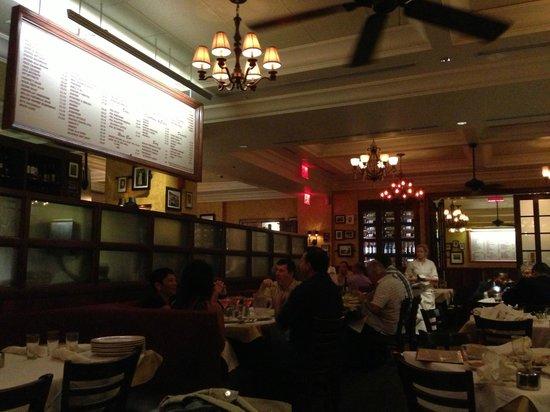 Carmine's Italian Restaurant : Interior