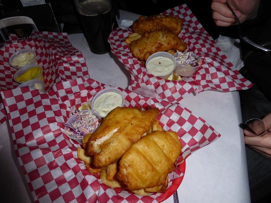 O'Reilly's Irish Pub: fish and chips