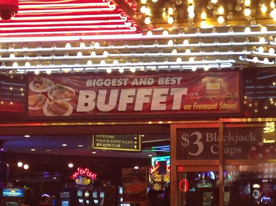 Paradise Buffet and Cafe: Worst Buffet on Freemont Street