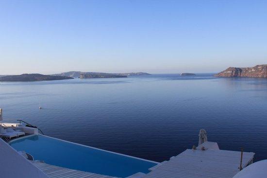 Katikies Hotel: Caldera View