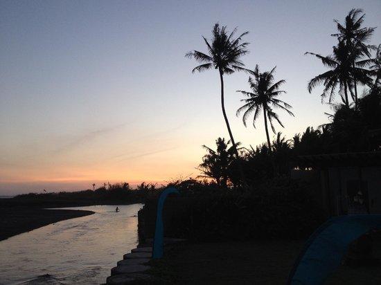 Villa Ylang Ylang: Sunset