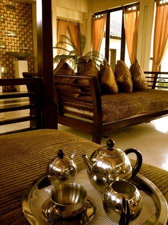 Villa Ylang Ylang: Coffee in the morning
