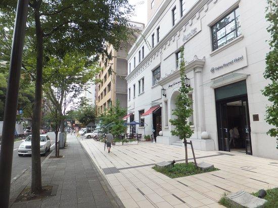 ไดวะ รอยเน็ต โฮเต็ล โยโกฮาม่า โคเอน: ホテル外観