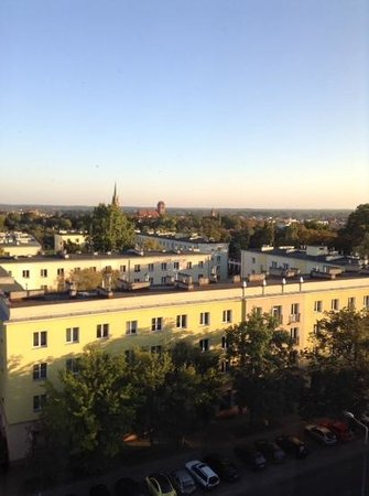 Hotel Filmar: view from our 6th floor bedroom window