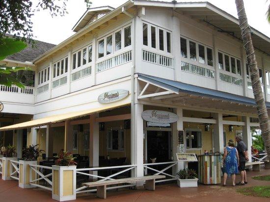 Merriman's Poipu: 1階がMerriman's Pizza&Burgersです。
