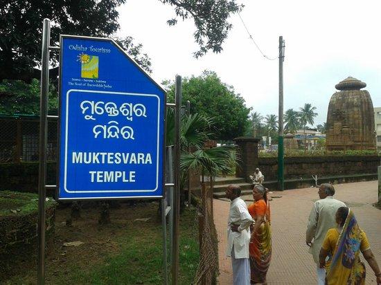 Entrance to the Mukteswara temple
