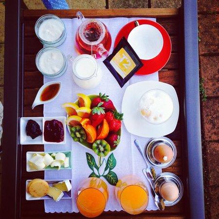 Kellers Bed & Breakfast: Beautiful breakfast