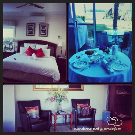 Bundeena Beach B & B: Our lovely room