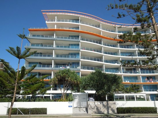 Silvershore Apartments on the Broadwater: Outlook