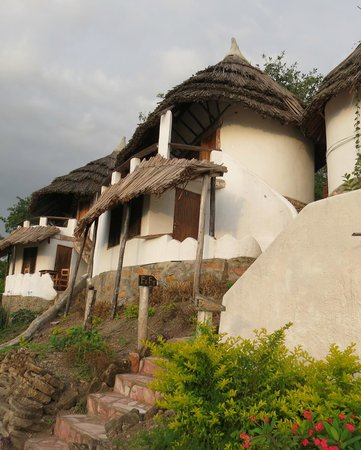 Kingfisher Lodge Kichwamba : Cozy, comfortable cottage with a great view