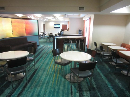 SpringHill Suites Raleigh-Durham Airport/Research Triangle Park: Dining place