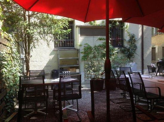 Plattenhof Hotel: Ourdoors