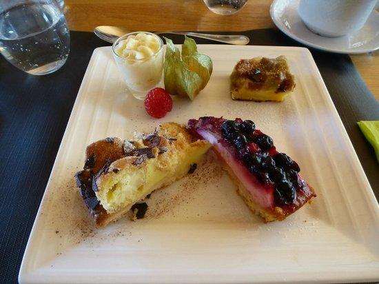 Hoevehotel Ter Haeghe: dessert