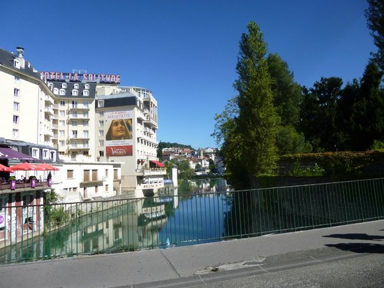 Grotte de Lourdes : View from the Cafe