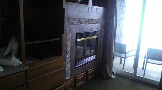 Nelscott Manor: Regatta fireplace