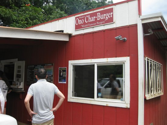 Duane's Ono Char-Burger: お昼は結構待ちます