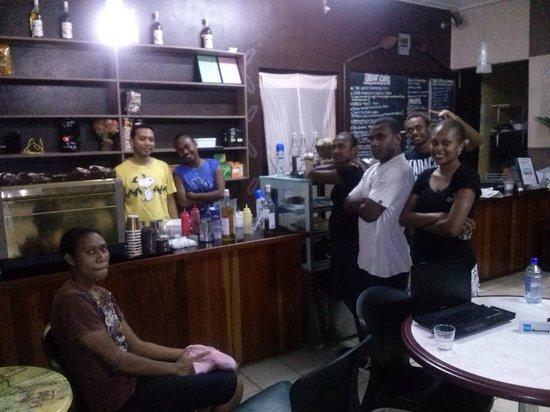 The Attar cafe team