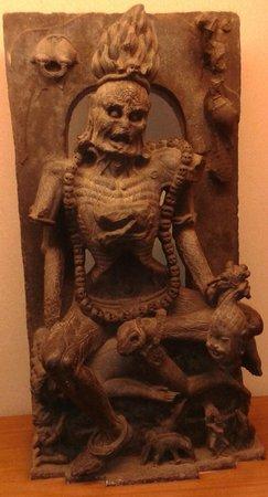 Odisha State Museum: Chamunda- Tantric Goddess