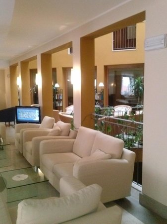 Hotel San Rocco: Salone reception