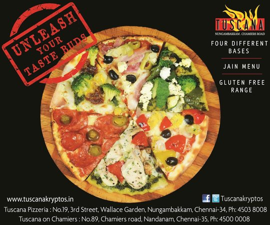 Tuscana Pizzeria : Multi Bases