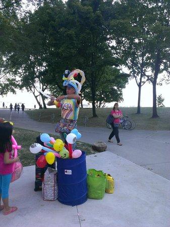Parc des Îles de Toronto : Baloon artist