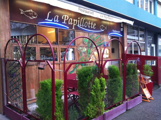 Outstanding seafood and service review of la papillotte le