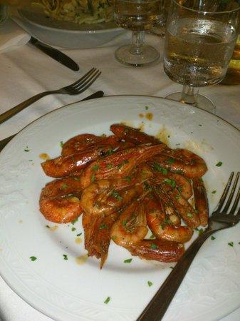 Ristorante Stelluccia: Gamberetti Sale & Pepe deliziosi e freschissimi