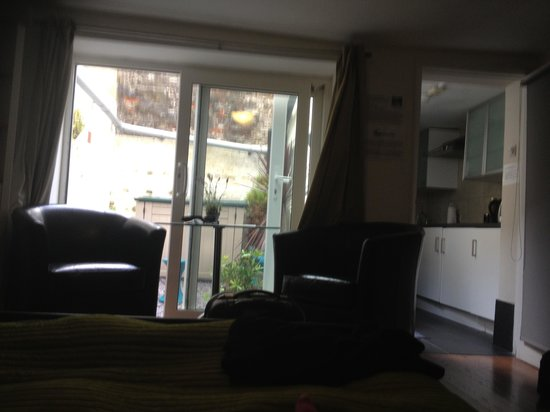 Ei8ht Brighton Apartments: View from the bed...