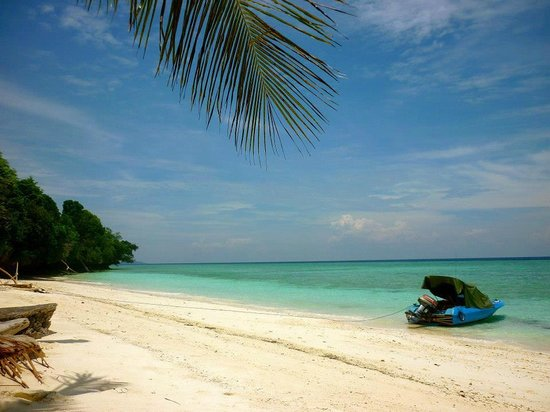 Derawan Islands, Indonesië: Maratua beach