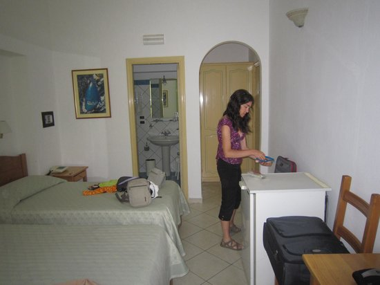 Hotel Ossidiana Stromboli: Habitación