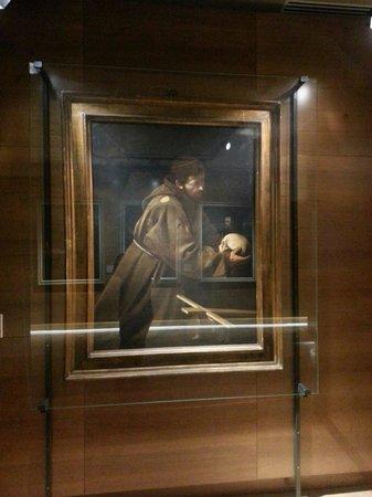 Santa Maria della Conceziones Cappuccini : Caravaggio, San Francesco
