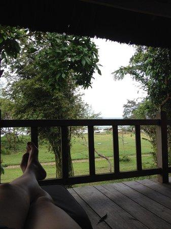 แมงโก้เบย์รีสอร์ท: view from our balcony (garden view room)
