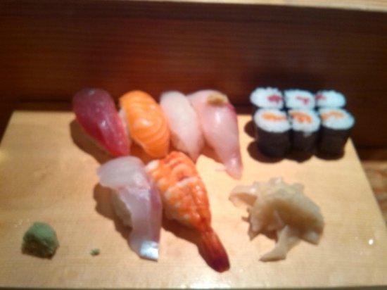 Yamayu Santatsu: Assortiment sushi-makis