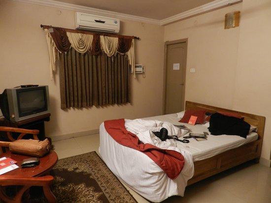 Hotel Akshaya: Deluxe double bed room.