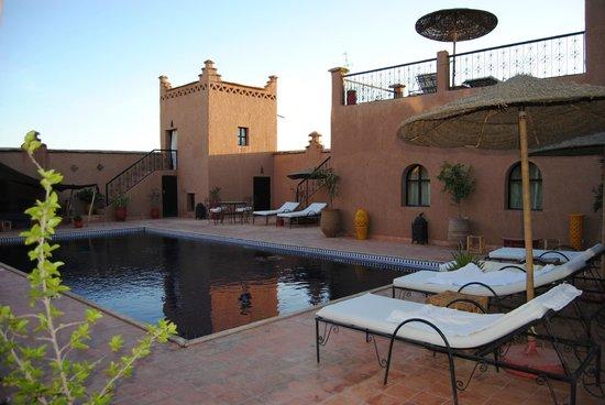 Dar Bergui: piscine
