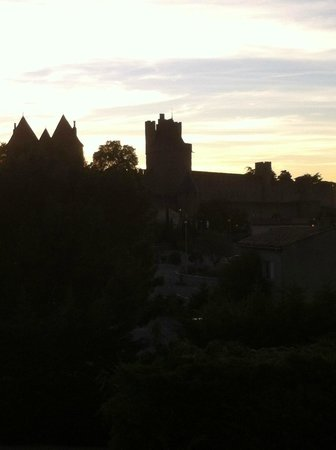 Mercure Carcassonne La Cite Hotel: View from hotel room... lovely!