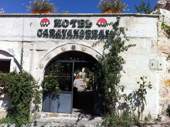 Caravanserai Cave Hotel: Hotel entrance