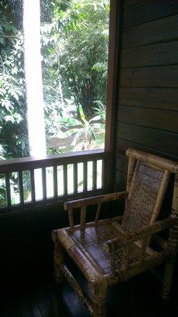 Mamaling Resort Bunaken: Balkon