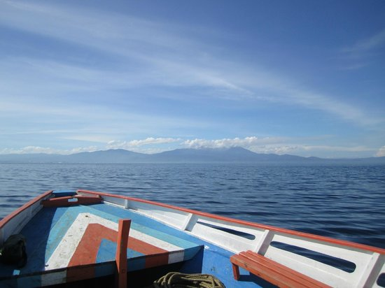 Mamaling Resort Bunaken: Fähre